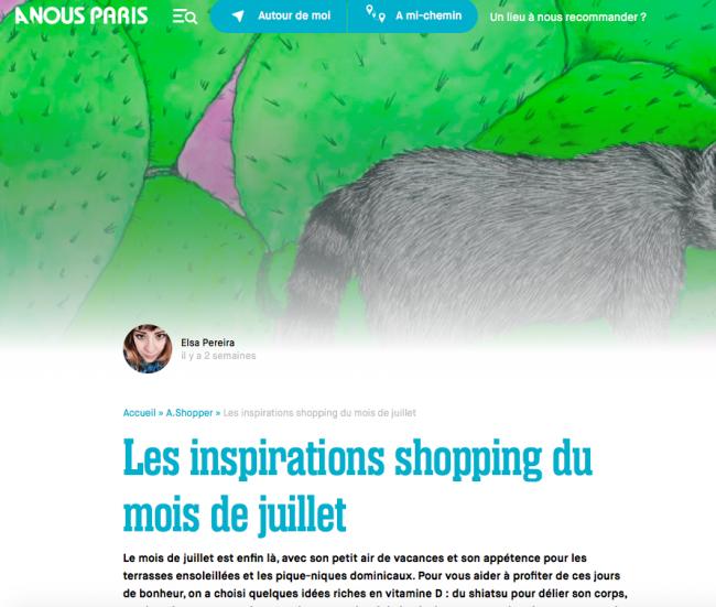 A NOUS PARIS